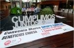 LOS SECRETARIOS GENERALES SE ENCIERRAN INDEFINIDAMENTE EN LA SEDE DE ENDESA EN MADRID